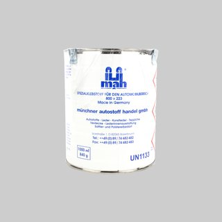 Mah Profi special adhesive for the automotive industry 800 x 223 1000 ml