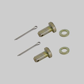 Door catching hinge safety / bolt set year 65-69